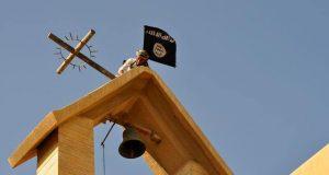 تخريب لأيقونات في كنيسة مار كوركيس في حي العربي شمالي الموصل