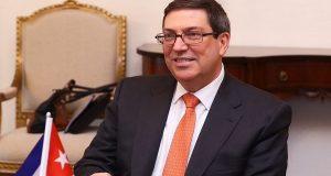 وزير الخارجية الكوبى برونو رودريجيز