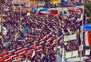 جنازة شهداء الحراك العراقي